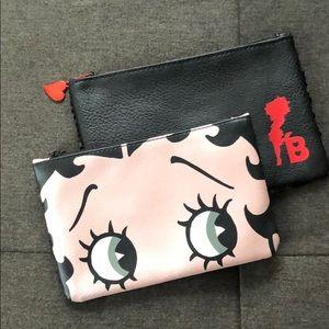 Betty Boop makeup bags